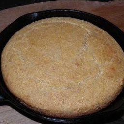 Black Skillet Cornbread