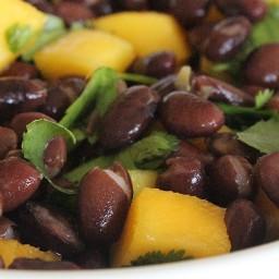 Black Beans in Mango Sauce