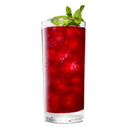 Blackberry-Bourbon Iced Tea