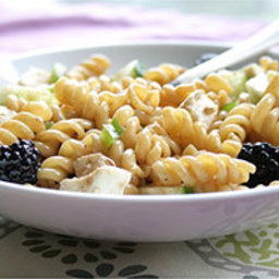 Blackberry Ginger Pasta Salad