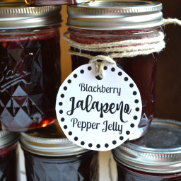 Blackberry Jalapeno Pepper Jelly