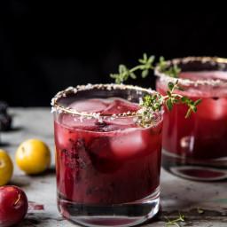Blackberry Thyme Margarita