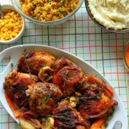 Blackened Spiced Roasted Chicken