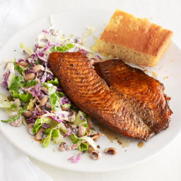 Blackened Tilapia With Black-Eyed Pea Salad