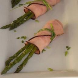 Black Forest Ham and Asparagus Bundles