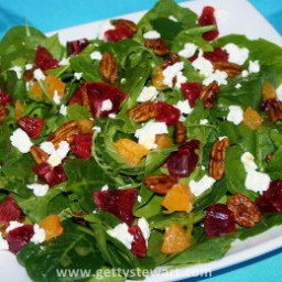 Blood Orange and Tangerine Salad