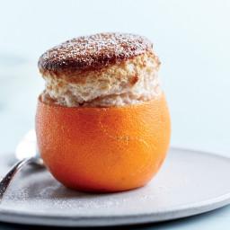 Blood Orange Soufflés