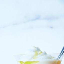 Blood Orange–Curd Sundaes with Olive Oil and Sea Salt