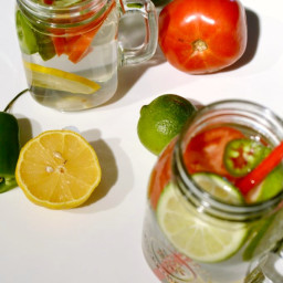 Bloody Mary Infused Water Recipe