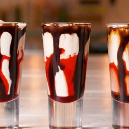 Bloody Milkshake Shots