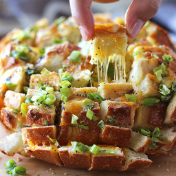 Bloomin Onion Bread (Pull Apart Bread)
