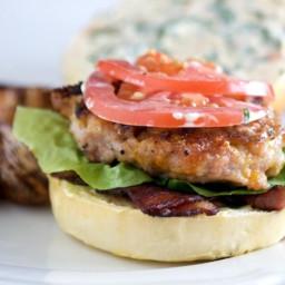 BLT Chicken Burgers Recipe