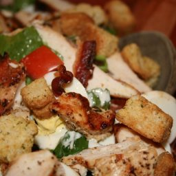BLT Grilled Chicken Salad