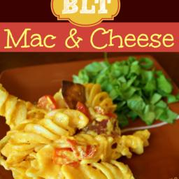 BLT Mac 'n' Cheese