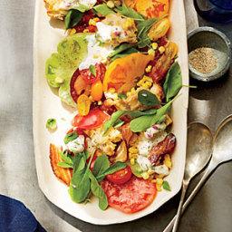BLT Panzanella Salad