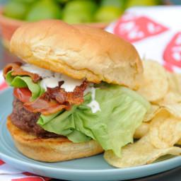 BLT Ranch Burger