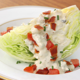 Blue Cheese Buttermilk Creamy Dressing Recipe