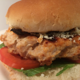 Blue Cheese Chicken Burgers