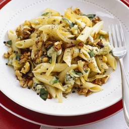 Blue Cheese Pasta & Walnuts