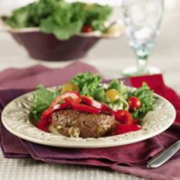 Blue Cheese-Stuffed Sirloin Patties