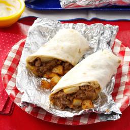 Blue Ribbon Beefy Burritos