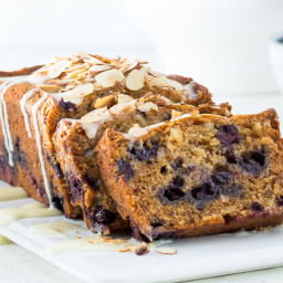 Blueberry-Almond Banana Bread
