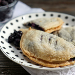 Blueberry and Goat Cheese Hand Pies
