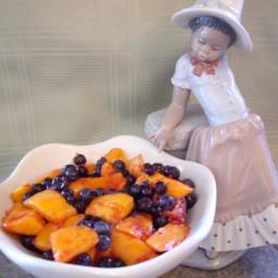 Blueberry and Mango Fruit Salad