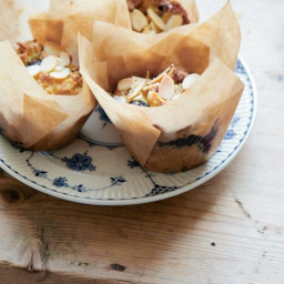 Blueberry and Ricotta muffins Recipe (gluten free)