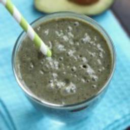 Blueberry Avocado Green Smoothie