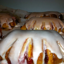 Blueberry Bear Claws