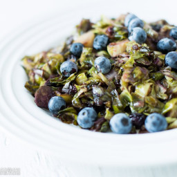 Blueberry Brussel Sprouts