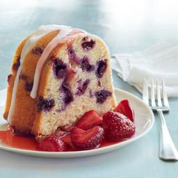 Blueberry Buttermilk Bundt Cake
