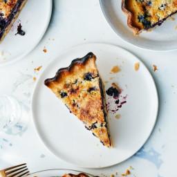 Blueberry-Buttermilk Chess Pie