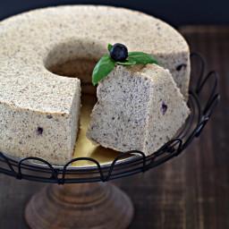 Blueberry Chiffon Cake