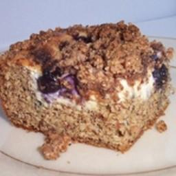 Blueberry Cream Cheese Coffee Cake (LC)