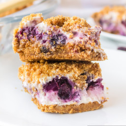 Blueberry Cream Cheese Squares