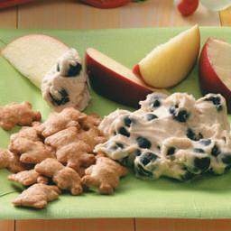 Blueberry Fruit Dip Recipe