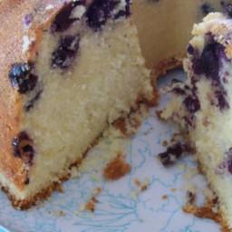 Blueberry-Lemon Pound Cake Recipe