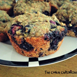 Blueberry Loaded Blueberry Muffins