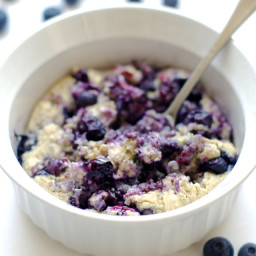 Blueberry Muffin Breakfast Bake