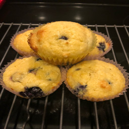 Blueberry Muffins (almond flour)