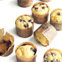 Blueberry-Orange Cornmeal Muffins