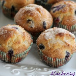 Blueberry Scone Muffins