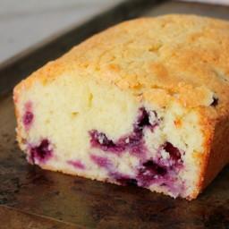 Blueberry Sour Cream Pound Cake Recipe