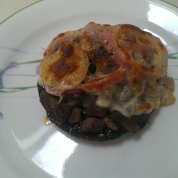 bodhi's Portobello steaks not for vegans