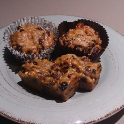 Boiled Fruit Cake / Muffins