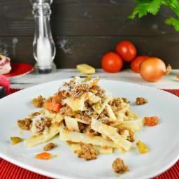 Bolognese Sauce Recipe [Gluten Free Pasta]