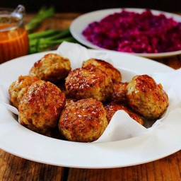 Bombay Turkey Meatballs