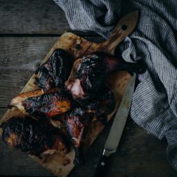 Boozy Bourbon Grilled Chicken